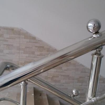 Paslanmaz Çelik Merdiven Korkuluğu